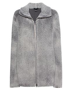 AVANT TOI Wool Zip Light Grey