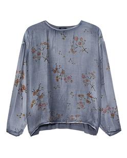 AVANT TOI Floral Cashmere Blue
