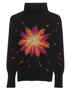 AVANT TOI Knit Flower Painting Black