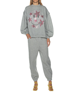 CAMOUFLAGE COUTURE STORK Jogger Smiley Glam Grey
