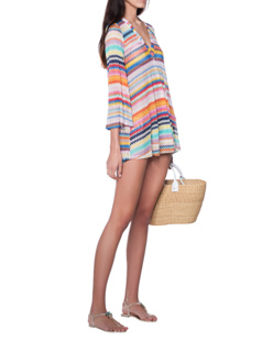 MISSONI MARE Short V Neck Multicolor