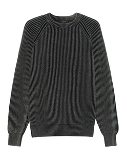 AVANT TOI Wool Cashmere Ribbed Anthracite
