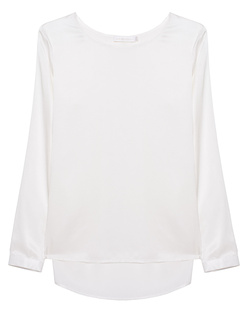 THE MERCER N.Y. Silk Blouse Off White