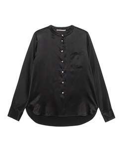(THE MERCER) N.Y. Chest Pocket Silk Black