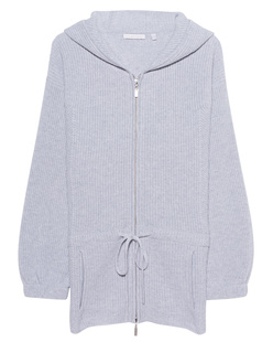 THE MERCER N.Y. Hoodie Knit Silver Melange
