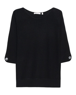 THE MERCER N.Y. Cashmere Cut Out Black