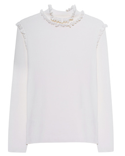 THE MERCER N.Y. Ruffles White