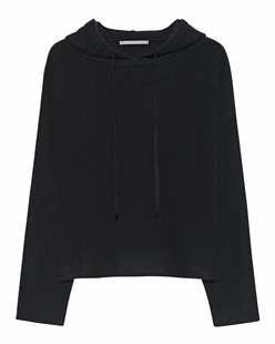 THE MERCER N.Y. Cropped Hoodie Black