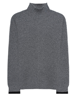 (THE MERCER) N.Y. Knit Black Combo Grey