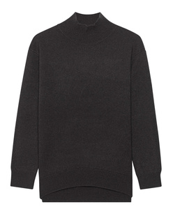 (THE MERCER) N.Y. Cashmere Stand Up Collar Chocolate
