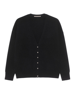(THE MERCER) N.Y. V-NECK BASIC CASHMERE BLACK