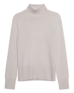 (THE MERCER) N.Y. Cashmere Stand Up Collar Greige