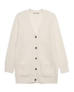 (THE MERCER) N.Y. Ripped Cashmere Ivory