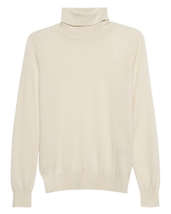 (THE MERCER) N.Y. Turtleneck Cashmere Beige