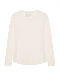 FUNKTION SCHNITT Crew Neck Long Off White