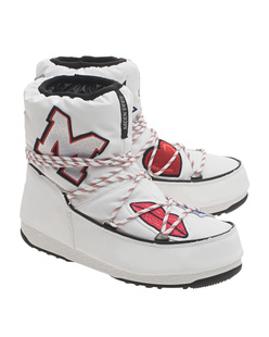 Moonboot x MSGM MOON BOOT WE LOW MSGM PATCH WHITE