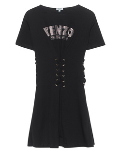 KENZO Lace Up Black