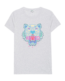 KENZO Tiger Head Short Heather Grey