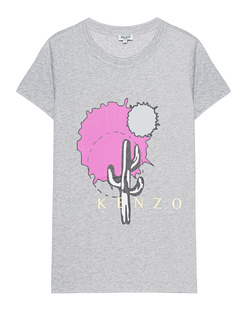 KENZO Cartoon Jersey Heather Grey