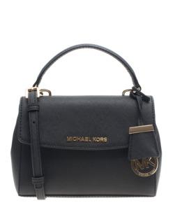 MICHAEL KORS  Ava Extra-Small Saffiano Leather Crossbody Black