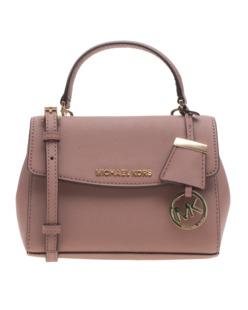 MICHAEL KORS  Ava Extra-Small Saffiano Leather Crossbody Rosé