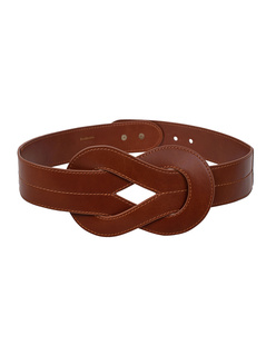 ZIMMERMANN Interlocked Waist Belt Tan