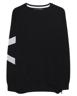 360 SWEATER Janis Black