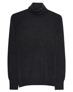 360 SWEATER Turtle Cashmere Anthracite