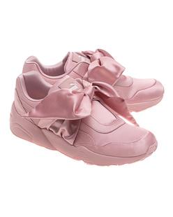 Fenty x Puma by Rihanna Bow Sneaker Silver Pink