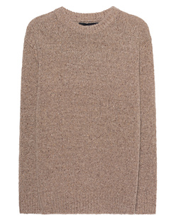 360 SWEATER Oversize Mag Camel
