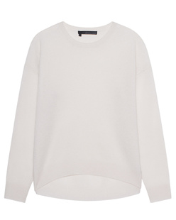 360 SWEATER Camille Salt Off-White