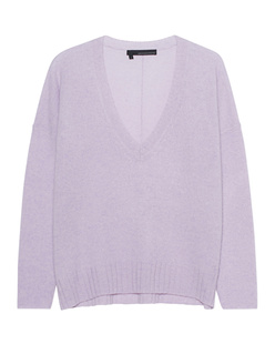 360 SWEATER Rylee V-Neck Lilac