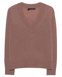 360 SWEATER Daisy V-Neck Toffee