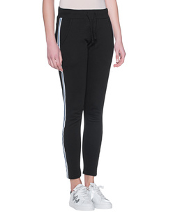 ROQA Sweat Black Stripes Black
