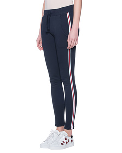ROQA Sweat Red Stripes Navy