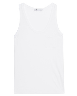 T BY ALEXANDER WANG Classic Cropped White