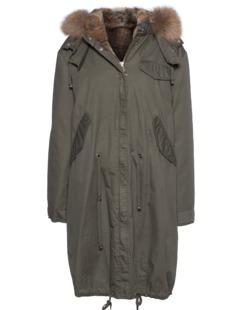IQ BERLIN Army Fur Olive Green