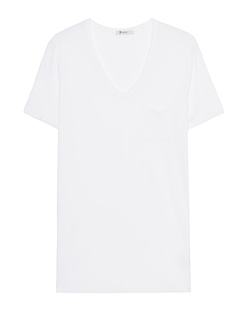 T BY ALEXANDER WANG Classic Pocket Short White
