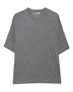 T BY ALEXANDER WANG Drop Shoulder Heather Grey