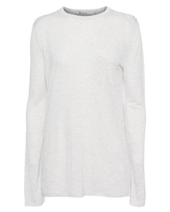 T BY ALEXANDER WANG LS Pocket Light Grey