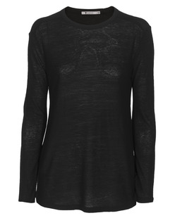 T BY ALEXANDER WANG Slub Classic Long Black