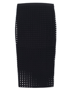 T BY ALEXANDER WANG Hole Stretch Pencil Black