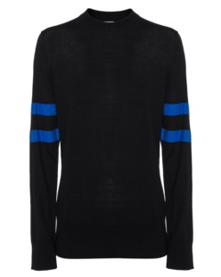 T BY ALEXANDER WANG Rugby Knit Black