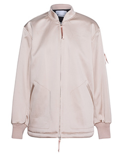 T BY ALEXANDER WANG Bomber Glossy Nude