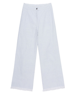 T BY ALEXANDER WANG Wide Leg Cropped Woven Sky