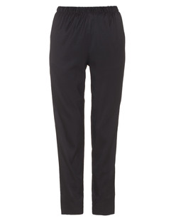 T BY ALEXANDER WANG Stretch Silk Twill Track Black