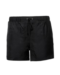 T BY ALEXANDER WANG Elastic Silk Black