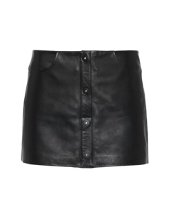 T BY ALEXANDER WANG Buttoned Sleek Black