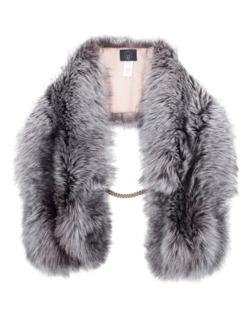 SLY 010 Elegant Fur Acc Grey