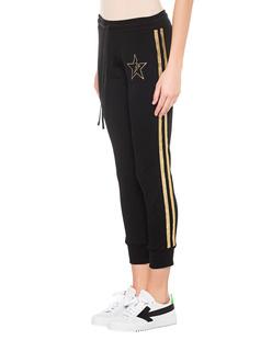 LAUREN MOSHI Cuff Gold Glitter Star Black